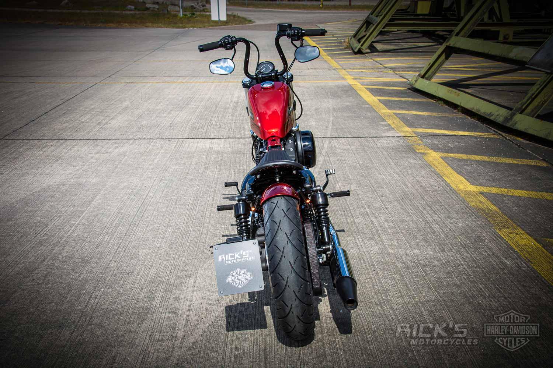 Harley Davidson Sportster Bobber Custom Ricks 039 1