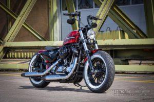 Harley Davidson Sportster Bobber Custom Ricks 046 1