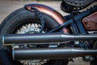 Harley Davidson Street Bob Ricks Custom Bobber 027