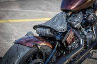 Harley Davidson Street Bob Ricks Custom Bobber 029