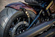 Harley Davidson Street Bob Ricks Custom Bobber 040