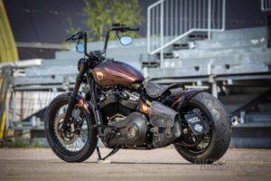 Harley Davidson Street Bob Ricks Custom Bobber 045