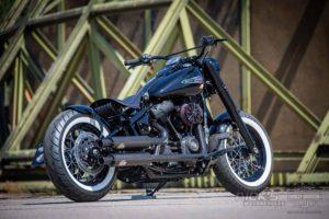 Harley Davidson M8 Softail Slim Bobber Ricks 043