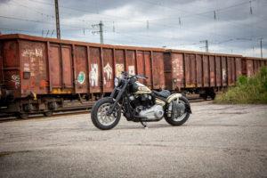 Harley Davidson Slim Bobber WW 055