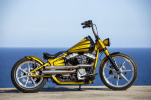 Harley Davidson Softail Slim Bobber 001