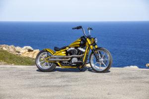 Harley Davidson Softail Slim Bobber 003