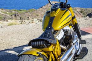 Harley Davidson Softail Slim Bobber 044