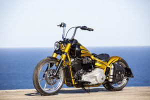 Harley Davidson Softail Slim Bobber 117