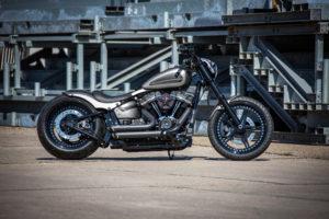 Harley Davidson Street Bob 300 Custom Ricks 001