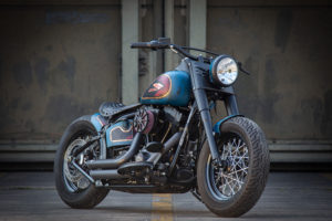 Harley Davidson Twin Cam Softail Slim Bobber kurz 002
