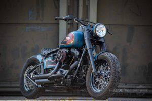 Harley Davidson Twin Cam Softail Slim Bobber kurz 003 1
