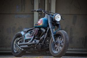 Harley Davidson Twin Cam Softail Slim Bobber kurz 003