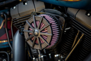 Harley Davidson Twin Cam Softail Slim Bobber kurz 004