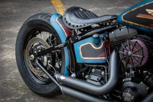 Harley Davidson Twin Cam Softail Slim Bobber kurz 006
