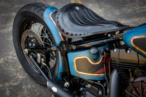 Harley Davidson Twin Cam Softail Slim Bobber kurz 008