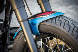 Harley Davidson Twin Cam Softail Slim Bobber kurz 009