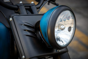 Harley Davidson Twin Cam Softail Slim Bobber kurz 011