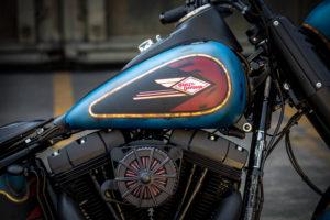 Harley Davidson Twin Cam Softail Slim Bobber kurz 017