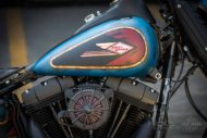 Harley Davidson Twin Cam Softail Slim Bobber kurz 022 1