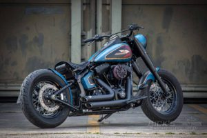 Harley Davidson Twin Cam Softail Slim Bobber kurz 024 Kopie 1