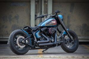 Harley Davidson Twin Cam Softail Slim Bobber kurz 024 Kopie