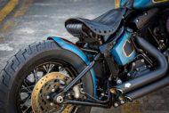 Harley Davidson Twin Cam Softail Slim Bobber kurz 027 1