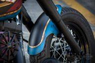 Harley Davidson Twin Cam Softail Slim Bobber kurz 029 1
