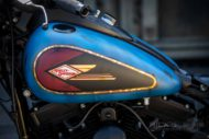 Harley Davidson Twin Cam Softail Slim Bobber kurz 047 1