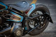 Harley Davidson Twin Cam Softail Slim Bobber kurz 055 1