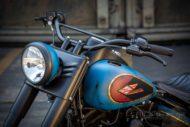 Harley Davidson Twin Cam Softail Slim Bobber kurz 057 1