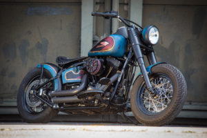 Harley Davidson Twin Cam Softail Slim Bobber lang 004