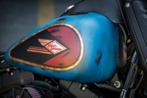 Harley Davidson Twin Cam Softail Slim Bobber lang 007