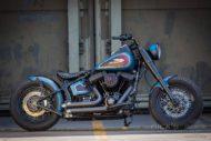 Harley Davidson Twin Cam Softail Slim Bobber lang 008 1
