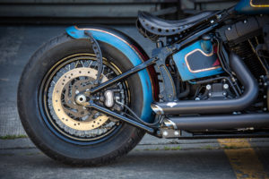 Harley Davidson Twin Cam Softail Slim Bobber lang 010