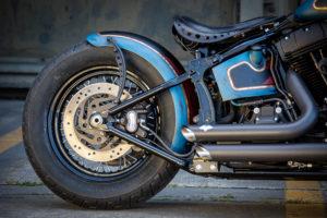 Harley Davidson Twin Cam Softail Slim Bobber lang 014