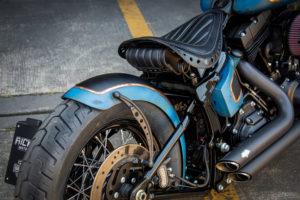 Harley Davidson Twin Cam Softail Slim Bobber lang 020
