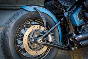 Harley Davidson Twin Cam Softail Slim Bobber lang 021