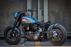 Harley Davidson Twin Cam Softail Slim Bobber lang 025