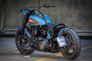 Harley Davidson Twin Cam Softail Slim Bobber lang 028