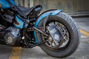 Harley Davidson Twin Cam Softail Slim Bobber lang 031