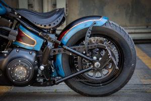 Harley Davidson Twin Cam Softail Slim Bobber lang 035