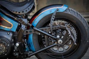 Harley Davidson Twin Cam Softail Slim Bobber lang 036