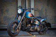 Harley Davidson Twin Cam Softail Slim Bobber lang 039 1