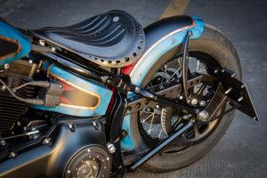 Harley Davidson Twin Cam Softail Slim Bobber lang 042