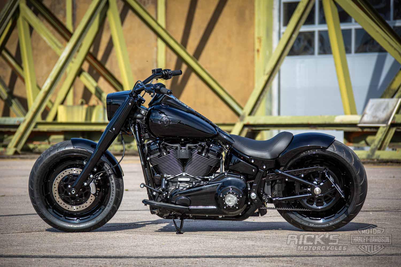 Harley Davidson M8 Fat Boy Ricks 111