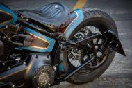 Harley Davidson Twin Cam Softail Slim Bobber kurz 055