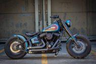 Harley Davidson Twin Cam Softail Slim Bobber lang 013