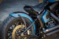 Harley Davidson Twin Cam Softail Slim Bobber lang 018