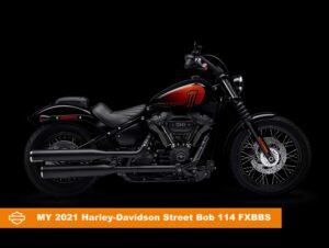 2021 street bob custom motorcycle k3