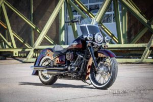 Harley Davidson Softail heritage Chicano Coustom 010